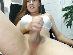 Masturbation, Transfrau, Solo