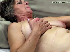 Old hairy granny suck and fuck young dick