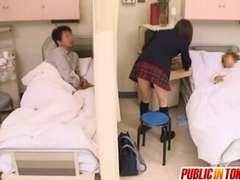 Naughty Japanese Teenager Gets Nailed