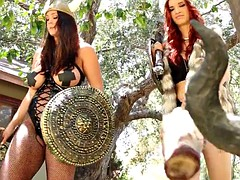 Alison Tyler and Jayden Cole are lesbian vikings
