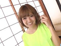 Sexy toy porn along insolent Asian doll  Kana Aono