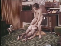 retro vintage anal big cock facial cumshot lingerie milf