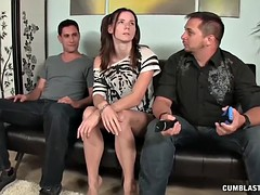 Naughty Wife Gets A Cumshot