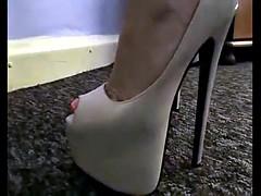 cum on high heels mix 419