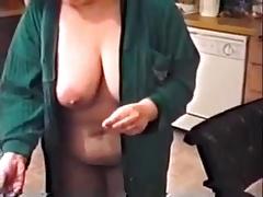 Bbw showing off
