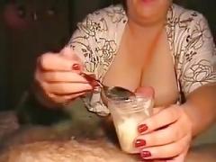 Morning milking.