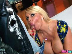 Fucking his friends Hot Blonde Mom