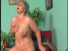 BBW ANAL INVASION INTRUSION GRANNY WITH GREY HAIR getting off(VINTAGE)