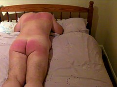 100 Painful Lashes of the Flogger for Nude Husband