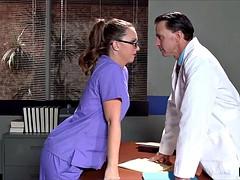 Fat Ass Nurse gets into trouble