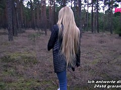 Dirty anal and A2M german petite teen in public