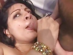CUCKOLD INDIAN HUSBAND SHARES HIS WIFE FOR THREESOME