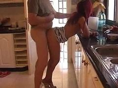 Redhead housewife