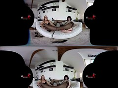 SexLikeReal -Afternoon Lesbo Delight  180VR 60 FFstockings