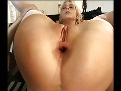 Gape Session: Rita joins Betty's anal lesson
