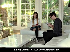 TeensLoveAnal - Naughty Teen Gets Ass-Fucked By The Counselo