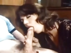 vintage retro milf big cock natural tits hairy fucked bed