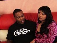 Two Asian sluts share a BBC