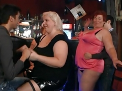 Big beautiful women embark dirty party