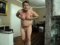 Old Tranny exposed in front of cam