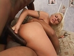 White babe picked up by black fella for sex