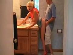 Hot Breasty Blonde Soccer mom Sex In Heels