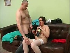 Lad Banged His Drunk Mom( Bang Give bj Son Firstass..