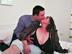 Two bigtit mothers having sex with sons