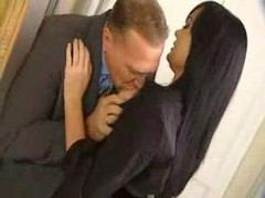 French Officer And besides Secretary Banging Ver