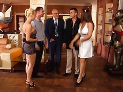 Анальный секс, Двойное проникновение, Группа, Русские, Втроем