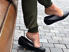 Candid dangle flats shoeplay - SEXY