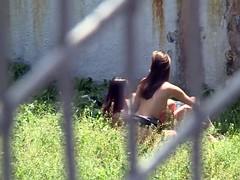 Lesbian Action In Public