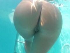 Amateur, Linda, Grupo, Sexo duro, Orgía, Fiesta, Afeitado, Bajo el agua
