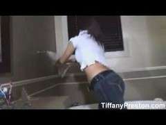 Tiffany Preston jack off and furthermore cum