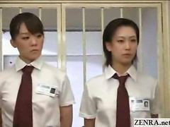Cfnm Japanese Inmates Line Up For Red-hot daily Cock Revision & Handjob