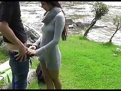 Asian Babe Fuck And Piss Outdoor