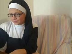 Lascivious Katholic Nun on Adult Webcam Chat