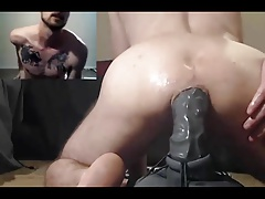 Amateur, Cul, Gode, Homosexuelle, Masturbation, Muscle, Webcam
