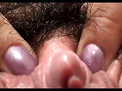 Mature hairy Olympia