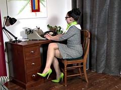 Sophia Delane - Office pest!