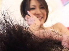 Unshaved amateurs and pornstar bushes in action