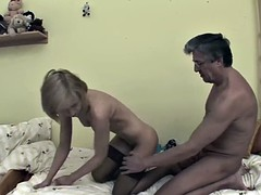 Stepdaughter gets caught masterbating and fucks