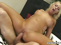 Alexis Monroe and Peter North