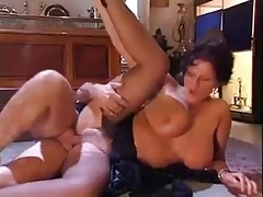 Tall Hooters Italian Sexually available mom fucked by nervous man