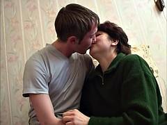 Sperma shot, Rijpe lesbienne, Russisch