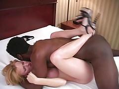 Enthousiasteling, Sperma, Man die toekijkt, Hardcore, Interraciaal