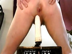 Me Riding My Dildo & Showing My BoiPussy