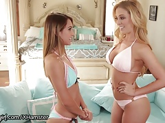 Cherie DeVille Helps Daughter with Vibrator