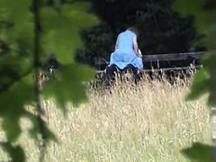 Amateur sex on park bench Meagan from dates25com
