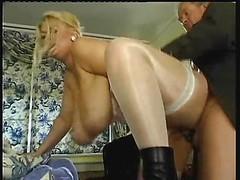 Huge Tit-Fuck & Male orgasm Natural Bra buddies